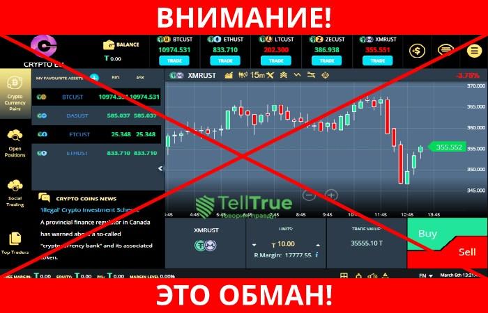CryptoEu обман