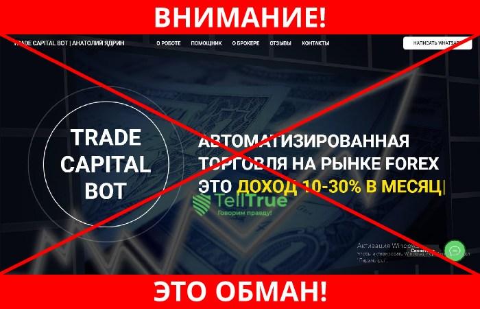 Trade Capital Bot лохотрон