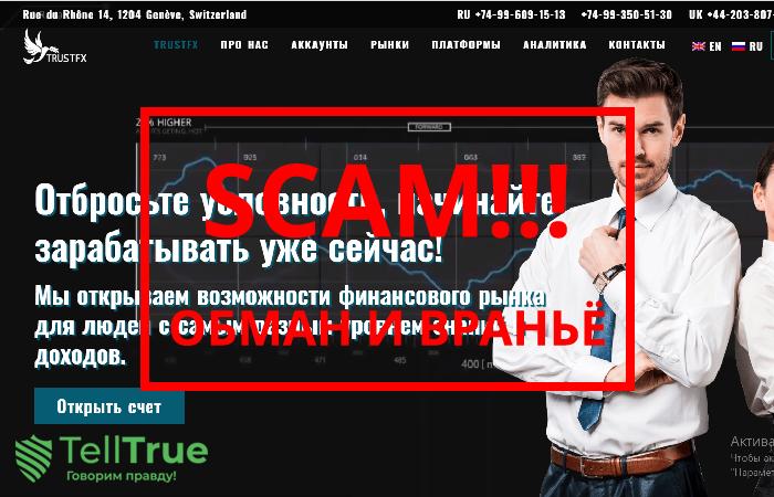 TrustFx – отзывы