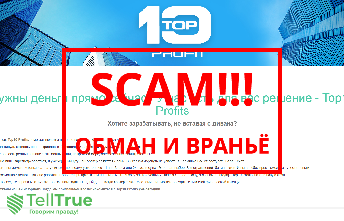 Top10 Profits – отзывы