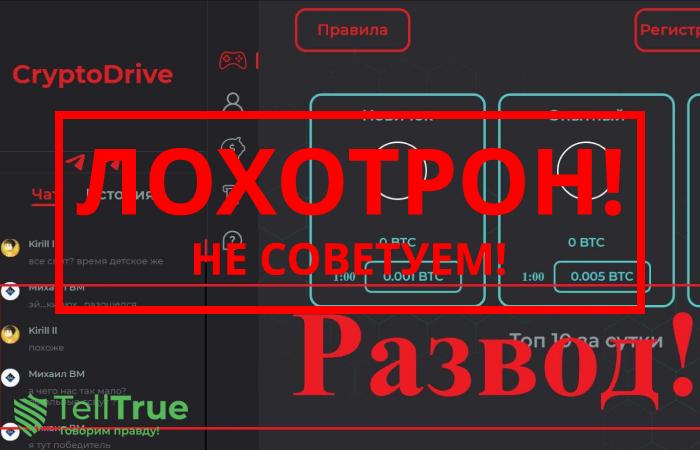 Cryptodrive – отзывы
