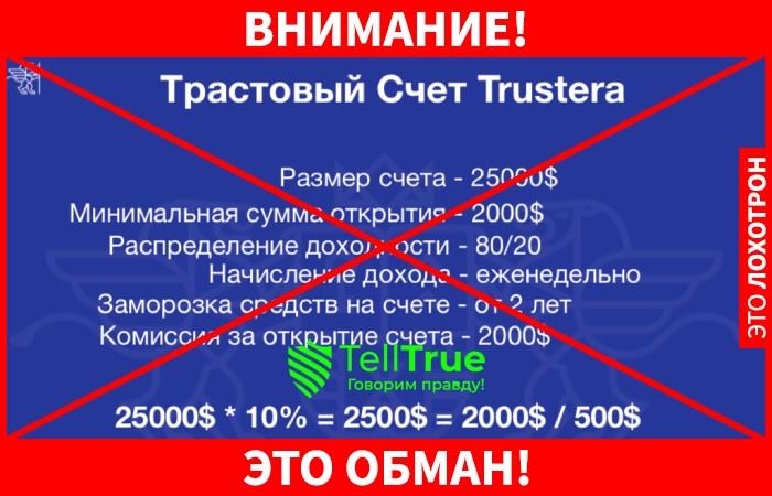 Trustera Global лохотрон