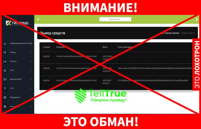 Fx Trading обман