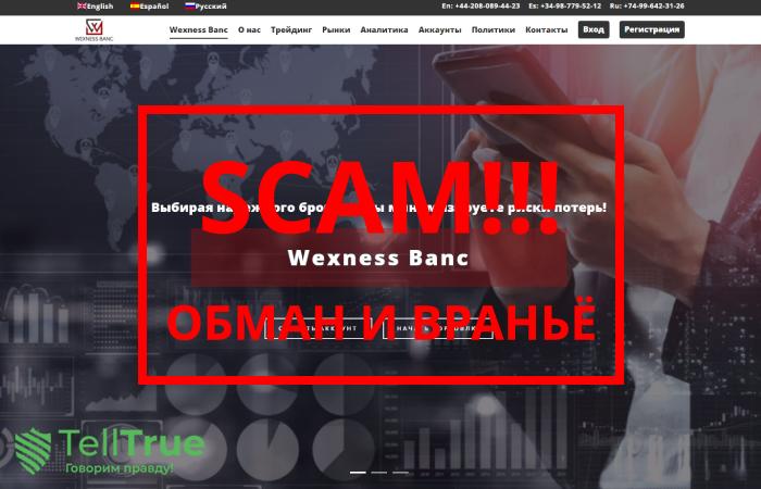 Wexness Banc – отзывы