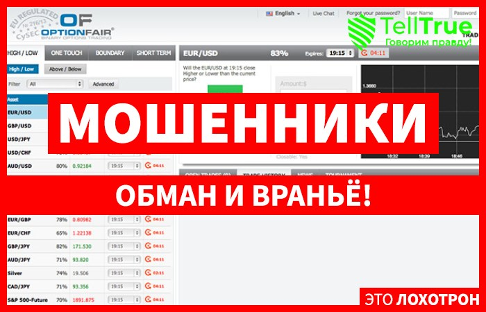 Optionfair – отзывы