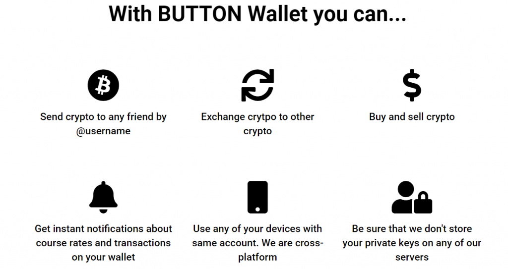 Button Wallet преимущества