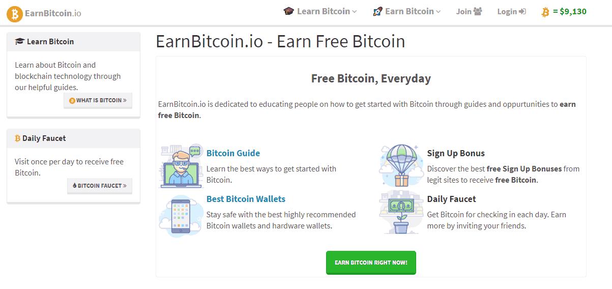 информация о EarnBitcoin.io