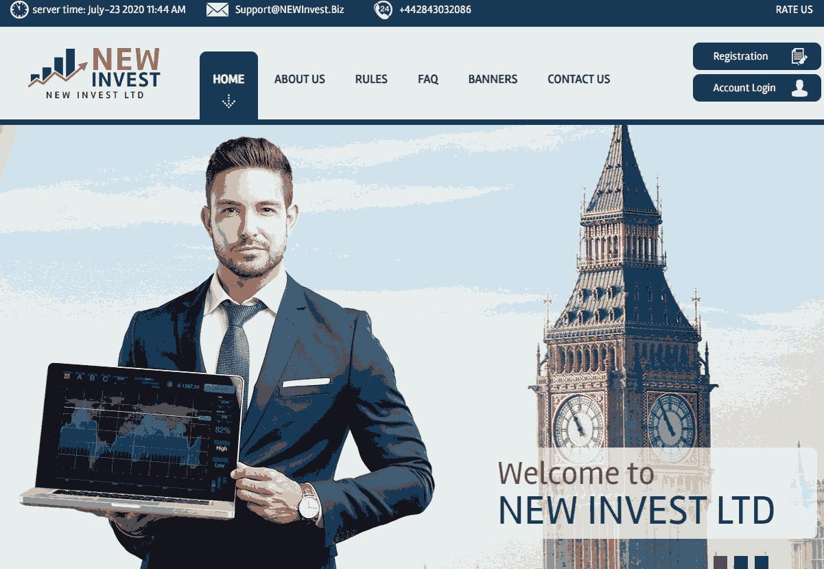 главная Newinvest