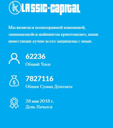Статистика сайта Klassic-Capital