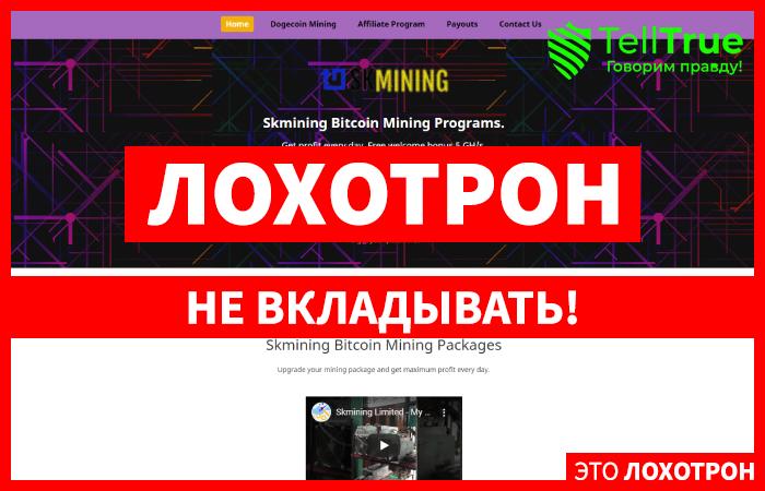 Skmining Bitcoin – отзывы