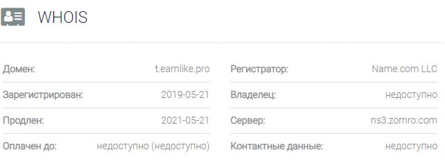 Информация о домене PROFITLAB