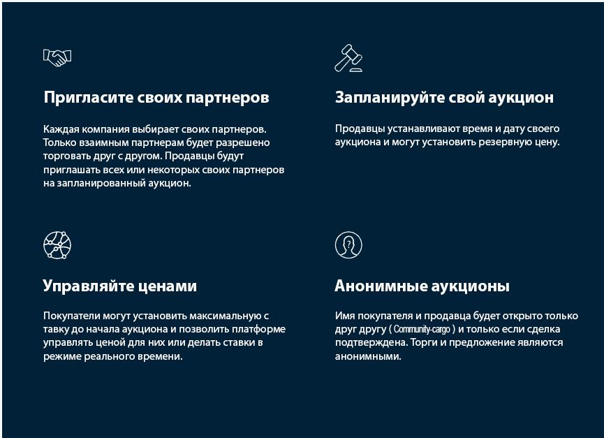 информация о Community-cargo