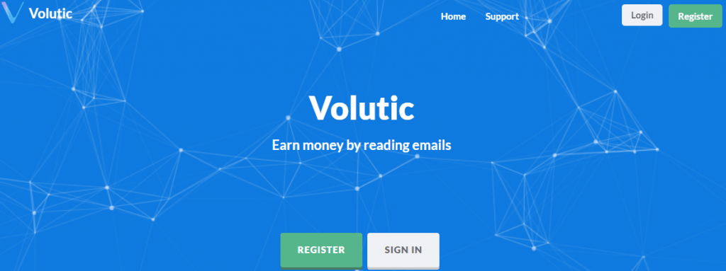 Volutic регистрация