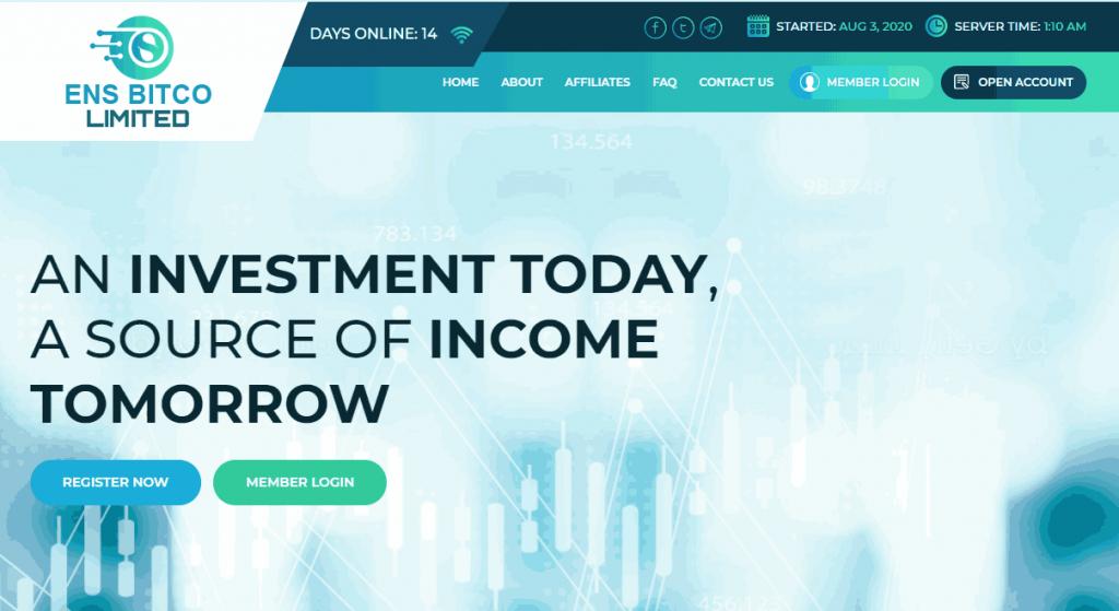 Ensbitco сайт компании