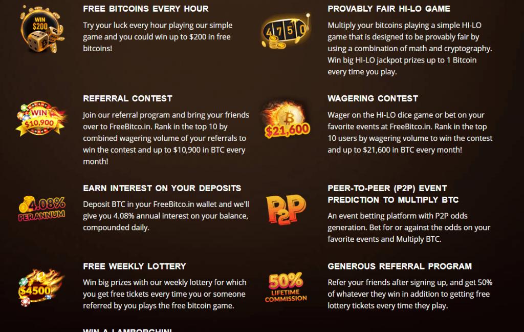 Freebitco бонусы