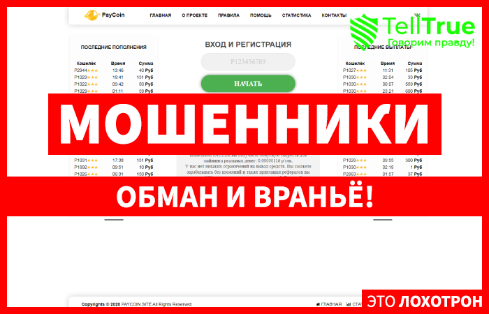 Paycoin – отзывы