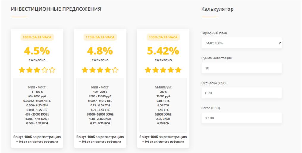 Crypto Kernel -инвестиционные предложения