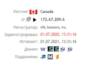 Worldf1n - основные данные