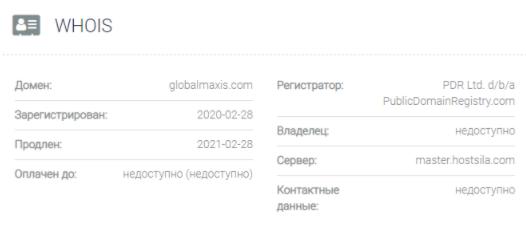 Global Maxis - основные данные