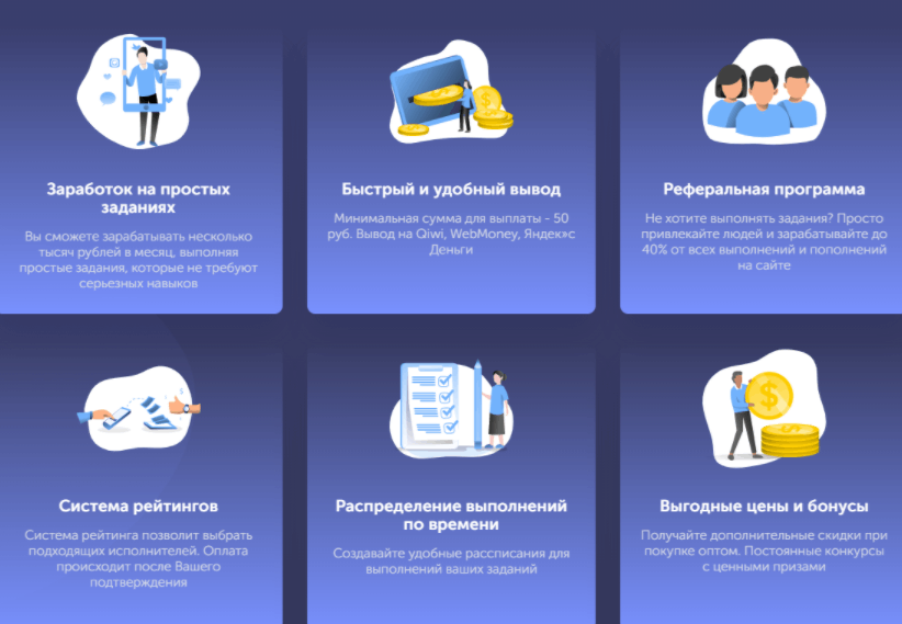 TaskPay - особенности площадки
