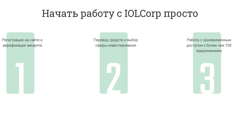 IOLCorp регистрация