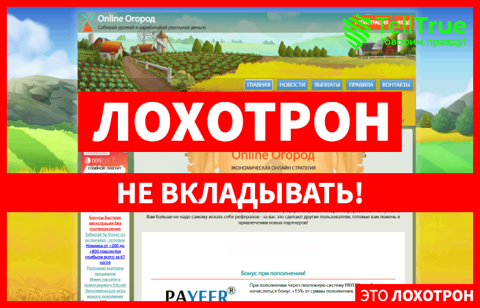 Online Ogorod – отзывы