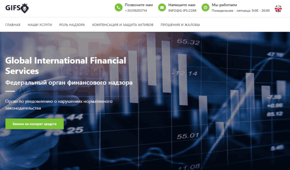 Global International Financial Services - сайт компании