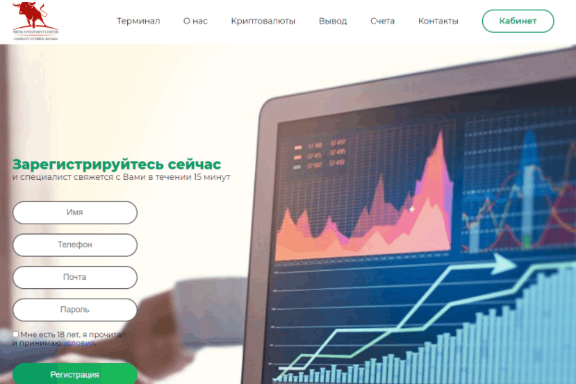 Think Investments Limited - сайт компании