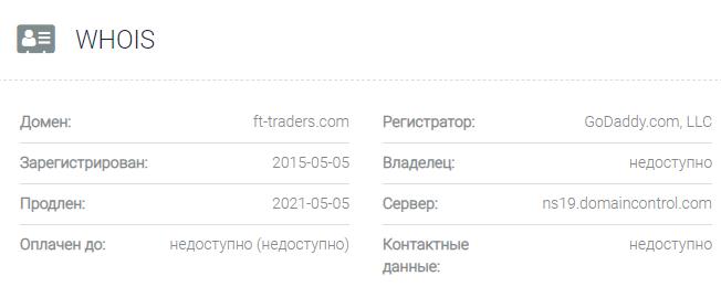 FT-Traders - основные данные