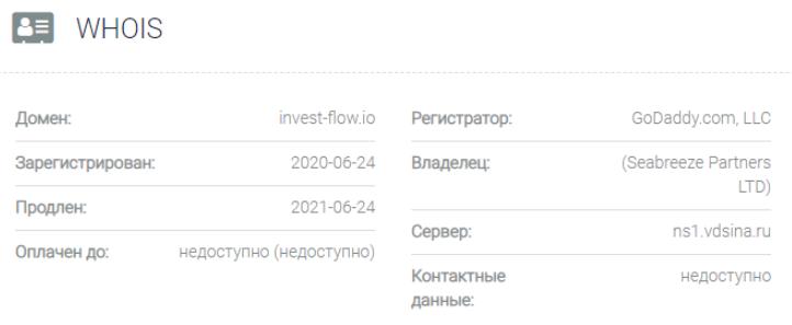 InvestFlow - основные данные