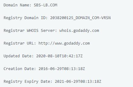 SBS LB - домен