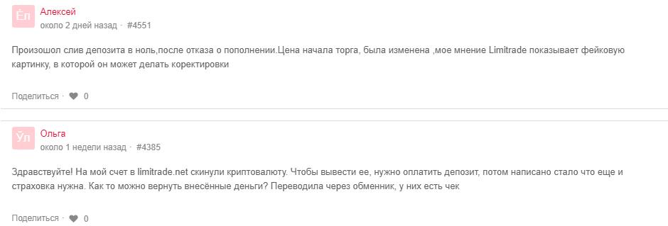 Limitrade - отзывы