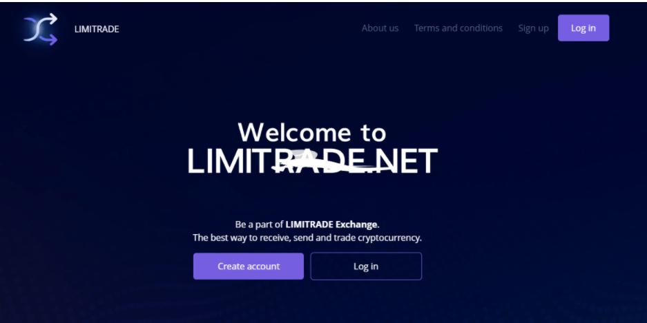 Limitrade - сайт компании
