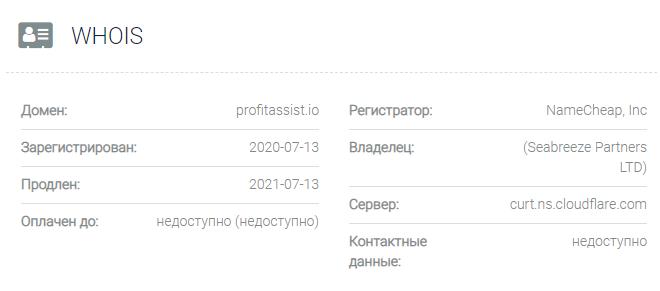 Profit Assist - домен