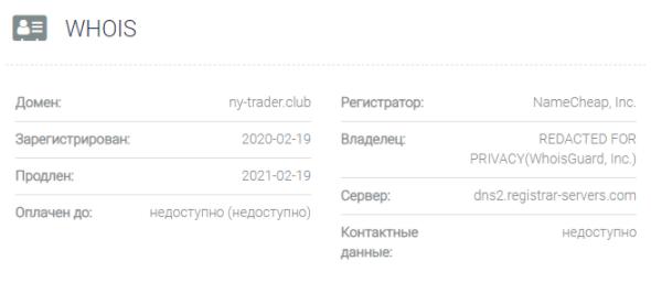 NY Trader Club - домен