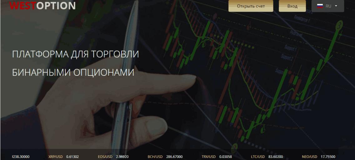 West Option - сайт компании