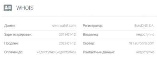 OWNR - домен
