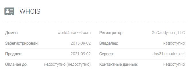 World4Market - домен