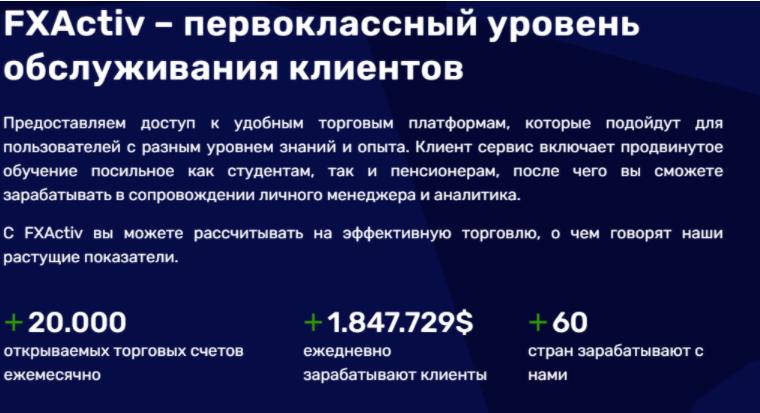 FXActiv - липовая статистика
