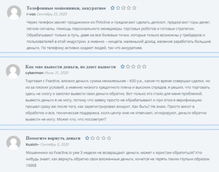 FXActiv - отзывы