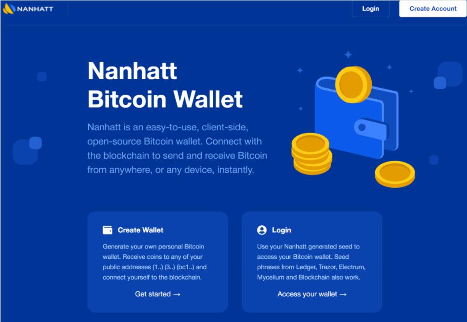 Nanhatt - сайт компании