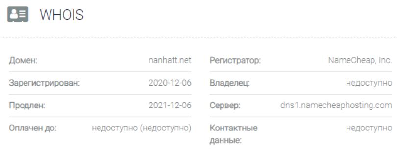 Nanhatt - домен