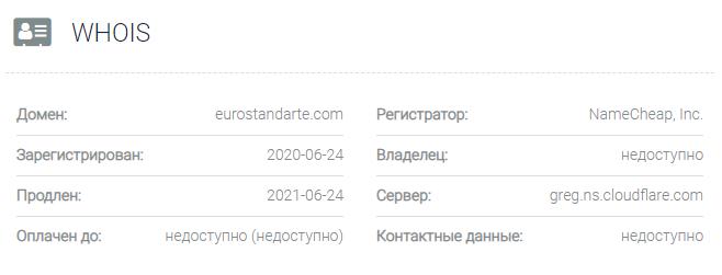 Eurostandarte - домен