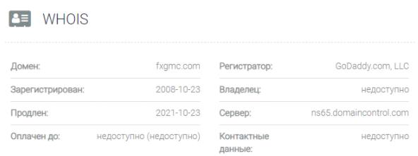 Fx GMC - основное о сайте