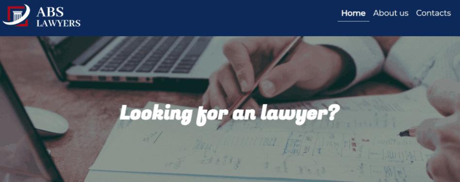 ABS Lawyers - сайт компании