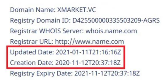 Xmarket - домен