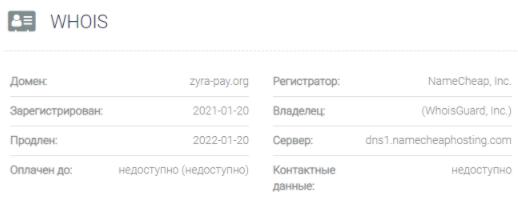 Zyrapay - домен