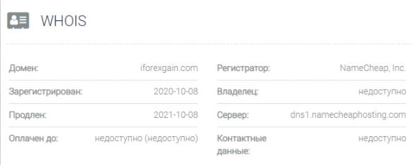 IForexgain - домен