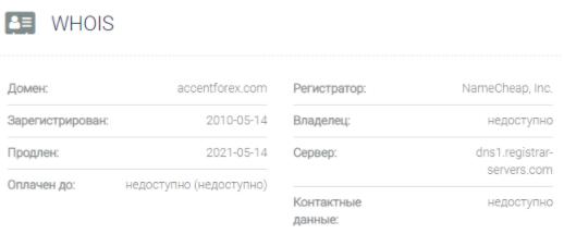 AccentForex - домен