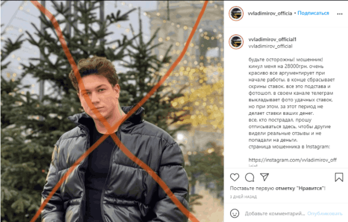 Vvladimirov official - отзыв